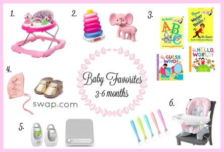 Baby Favorites | 3-6 Months